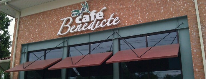 Cafe Benedicte is one of Houston Restaurant Weeks - 2013.