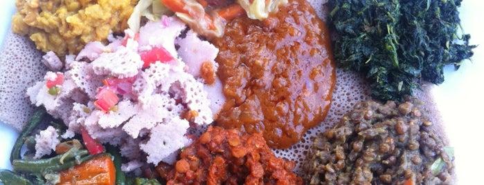 Abay Ethiopian Restaurant is one of Byron 님이 좋아한 장소.