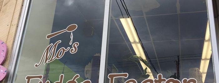 Mo's Fudge Factory is one of David'in Beğendiği Mekanlar.