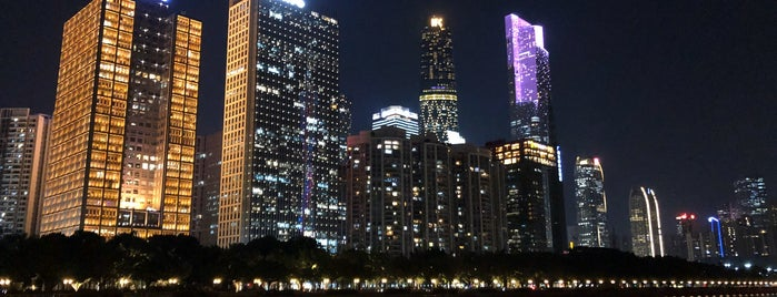 Guangzhou Bridge is one of Tempat yang Disimpan Orietta.