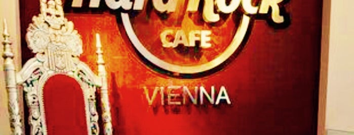 Hard Rock Cafe is one of Vienna.