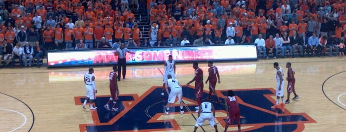 Auburn Arena is one of dos....