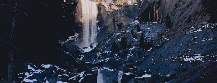 Vernal Falls is one of 10 - Yosemite.