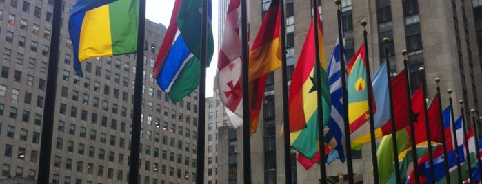 Rockefeller Center is one of NY.