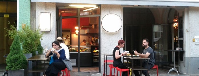 Dada Falafel is one of Berlin food v.