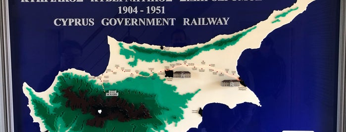 Cyprus Railway Museum is one of Begoさんのお気に入りスポット.