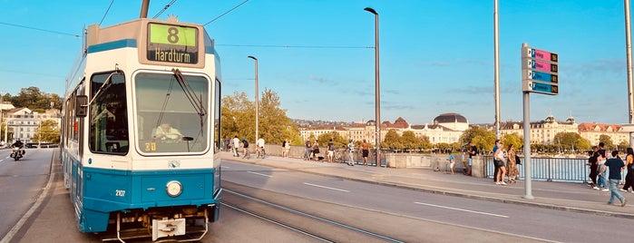 Quaibrücke is one of Zurich.