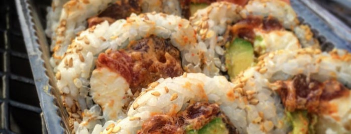 Hayashi's You Make The Roll Sushi Take Out is one of Big island Hawaii.