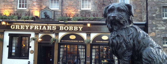 Greyfriars Bobby's Bar is one of Posti che sono piaciuti a Carl.