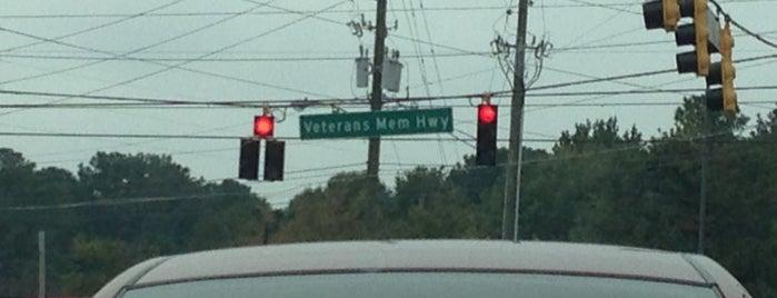 Veterans Memorial Hwy & Floyd Rd is one of Marietta & Atlanta.