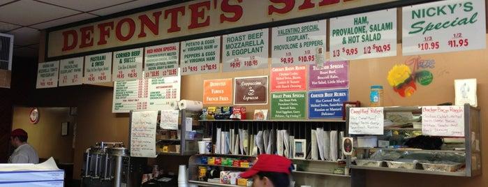 Defonte's Sandwich Shop is one of Brooklyn, NY - Vol. 1.