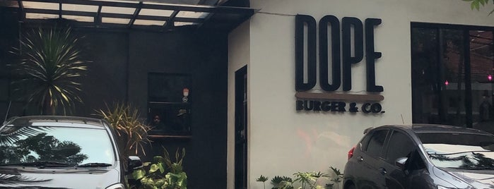 Dope Burger & Co is one of Jakarta.