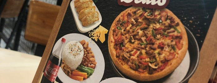 Pizza Hut is one of Bali Indonesia.