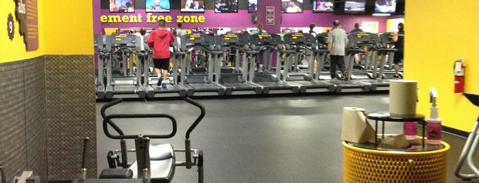 Planet Fitness is one of Ana's Liked Places.