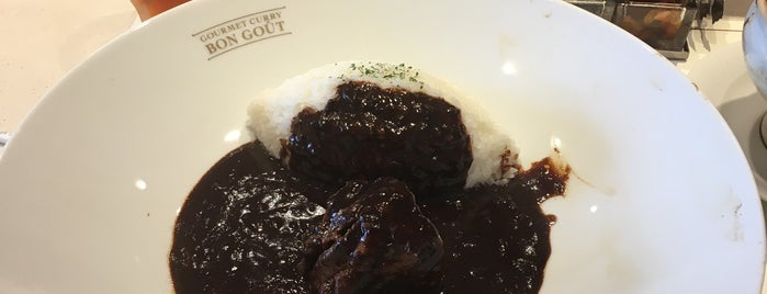 Gourmet Curry Bon Gout is one of TOKYO-TOYO CURRY-5.
