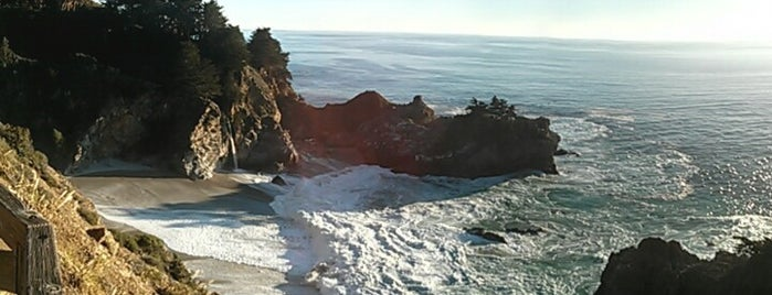 Julia Pfeiffer Burns State Park is one of CBS Sunday Morning.