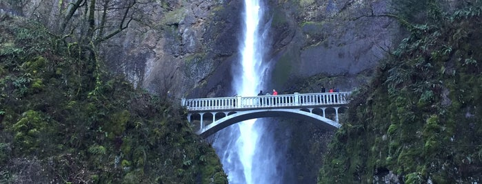 Multnomah Falls is one of Portland/Oregon.