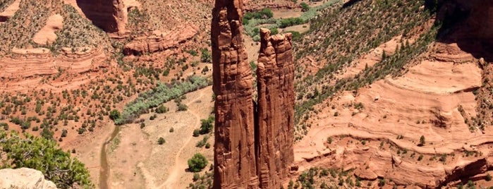 Canyon De Chelly National Monument is one of Historic Route 66.