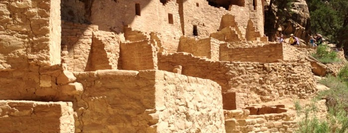 Mesa Verde National Park is one of Colorado.