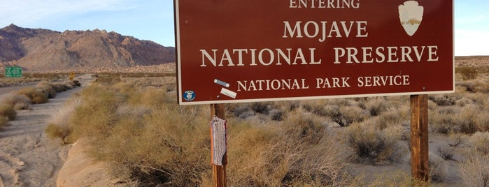 Mojave National Preserve is one of LAS/LAX/SAN.