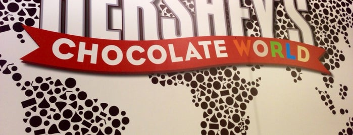 Hershey's Chocolate World is one of Vegas.