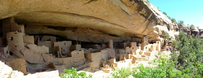 Mesa Verde National Park is one of Historic Route 66.
