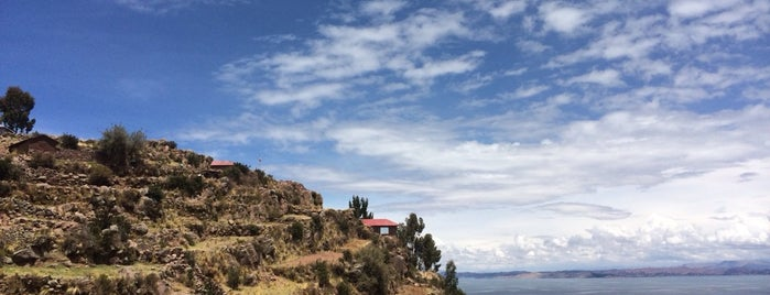 Isla Taquile is one of Peru.