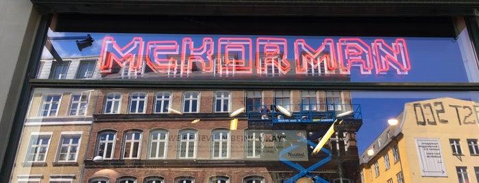 McKorman is one of Copenhagen.