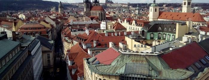 Prašná brána is one of Nejlepší výhledy v Praze.