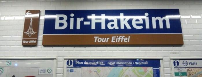 Métro Bir-Hakeim — Tour Eiffel [6] is one of Went before.