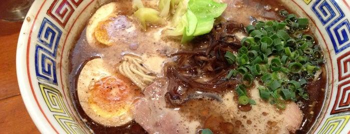 夢亀らーめん is one of 経堂の麺.