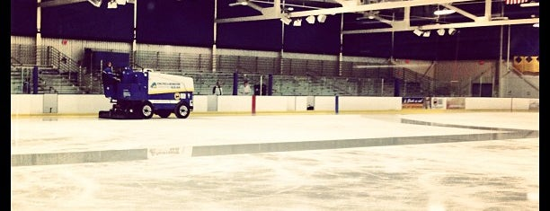 Fred Rust Ice Arena is one of Stadium Tour.
