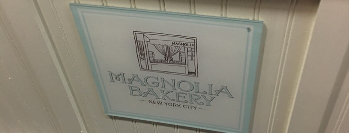 Magnolia Bakery is one of Orte, die Christina gefallen.