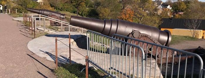 Suomenlinnan Rauniot / Suomenlinna Fortress Ruins is one of Helsinkiläisten mielipaikat.