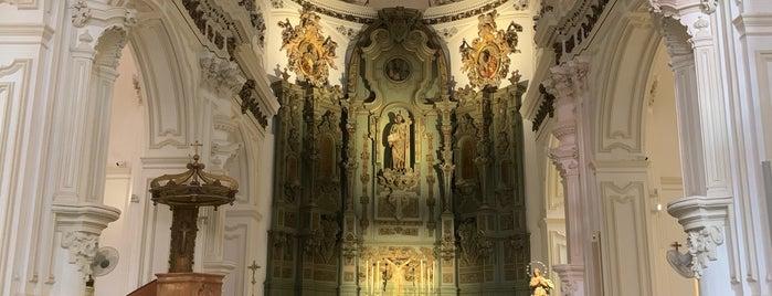 Iglesia de Santiago is one of Málaga TBMAGP.