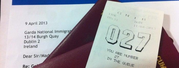 Garda National Immigration Bureau is one of John : понравившиеся места.