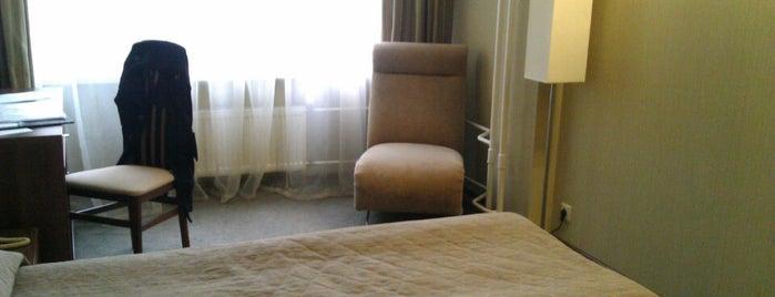 Гостиница «Дизайн отель» is one of สถานที่ที่บันทึกไว้ของ Alina.