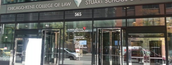 IIT Chicago-Kent College of Law is one of This job has taken me to....