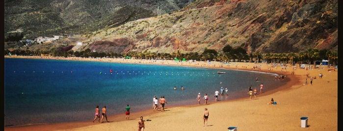 Playa de Las Teresitas is one of Islas Canarias: Tenerife.