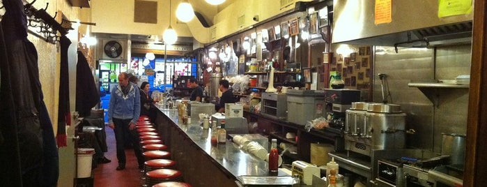 Eisenberg's Sandwich Shop is one of NY to-do list.