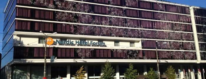Nordic Hotel Forum is one of Hotel History.