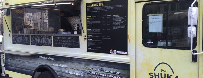 Shuka Truck is one of Places to Eat.