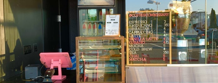 Coffee Commisary is one of Los Angeles cafes.