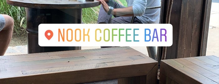 Nook Coffee Bar is one of Sau.