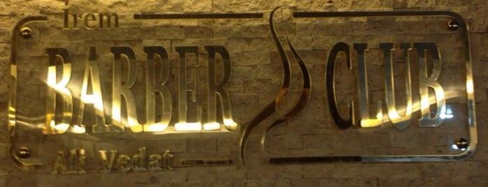 Irem Barber's Club is one of Yeti'nin Kaydettiği Mekanlar.
