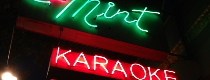 Mint Karaoke Lounge is one of SF.