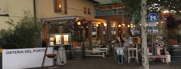 Antica Osteria Del Porto is one of Lugano.