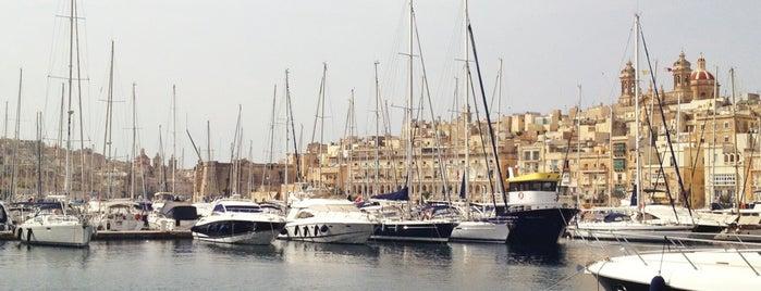 Vittoriosa Yacht Marina | Grand Harbour Marina is one of Lieux qui ont plu à Ruth.