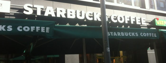 Starbucks is one of Essen gehen.