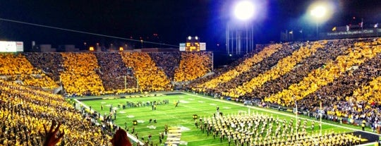 Kinnick Stadium is one of Guide to Iowa's best spots.